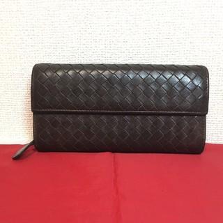 f5b028596760 ボッテガヴェネタ(Bottega Veneta)のボッテガヴェネタ イントレチャート 長財布(長財布