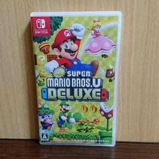 ニンテンドースイッチ(Nintendo Switch)のNewスーパーマリオブラザーズU デラックス switch(家庭用ゲームソフト)
