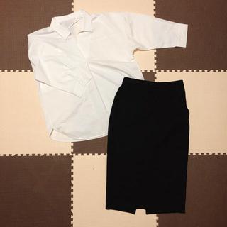 ジーユー(GU)の入園式 入学式 スーツ スカート(スーツ)