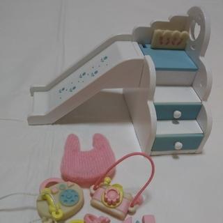 エポック(EPOCH)のシルバニアファミリー すべり台おもちゃ セット(その他)