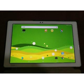 エルジーエレクトロニクス(LG Electronics)のau qua タブレット pz 10インチ 4月12日まで限定販売(タブレット)