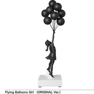 MEDICOM TOY - 送料込 バンクシー 100個限定 FLYING  BALLOONS GIRL黒