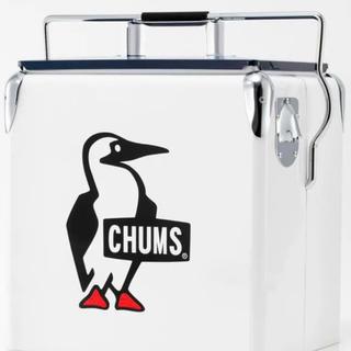 チャムス(CHUMS)の限定品 チャムス スチールクーラーボックス キャンプ アウトドア(その他)