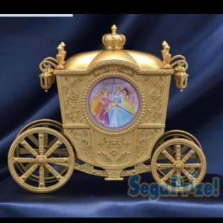 ディズニー(Disney)のプリンセス 馬車 時計(置時計)