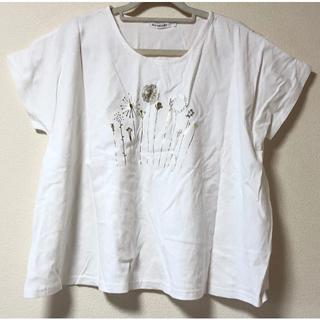 サンバレー(SUNVALLEY)の【新品未使用】SUN VALLEY サンバレー ゆったりTシャツ ホワイト(Tシャツ(半袖/袖なし))