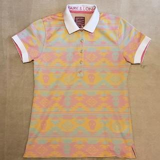 マークアンドロナ(MARK&LONA)の美品! MARK&LONA ポロシャツ レディース Mサイズ(ウエア)