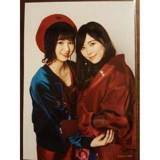 エスケーイーフォーティーエイト(SKE48)のSKE48 松井珠理奈 菅原茉耶 生写真 ジワるDays WonderGoo特典(アイドルグッズ)