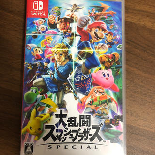 ニンテンドースイッチ(Nintendo Switch)のスマブラsp(家庭用ゲームソフト)