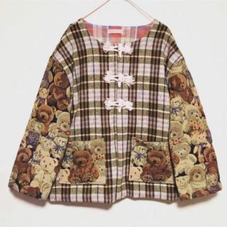 ウォール(WALL)の【新品未使用】MIYANISHIYAMA テディベア コート(テーラードジャケット)