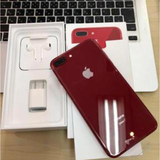 Apple - 美品 iphone 8  plus 256GB レッド SIMロック解除済み