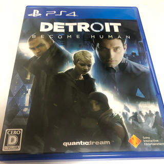 PlayStation4 - PS4 DETROIT ソフト