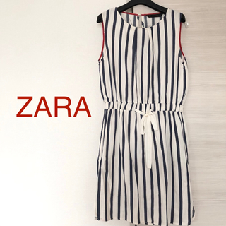 ZARA - ZARA ストライプワンピース