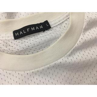 ハーフマン(HALFMAN)の22日まで HALFMAN 未使用 メッシュ Tシャツ(Tシャツ/カットソー(半袖/袖なし))