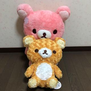 サンエックス - 桜リラックマXL プレミアム & リラックマ ローズボアXL ぬいぐるみセット