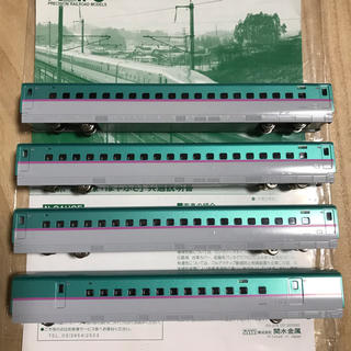 カトー(KATO`)のKATO E5系はやぶさ増結セットB 10-859(鉄道模型)