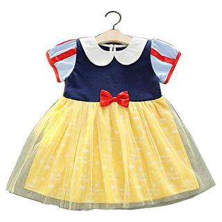 ディズニー(Disney)のディズニープリンセス ワンピース  白雪姫と7人の小人たち snow white(ワンピース)