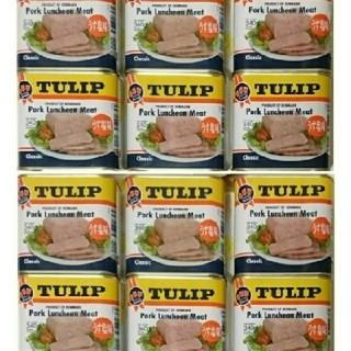 チューリップポーク 12缶(缶詰/瓶詰)