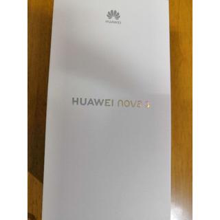 HUAWEI nova3 SIMフリー 黒