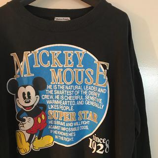 ディズニー(Disney)のウォルト ディズニー ミッキー 90s ワイドスウェット(スウェット)