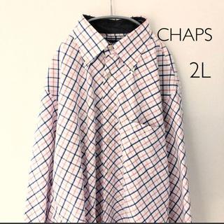 チャップス(CHAPS)のCHAPS 長袖シャツ 2L チャップス(ポロシャツ)