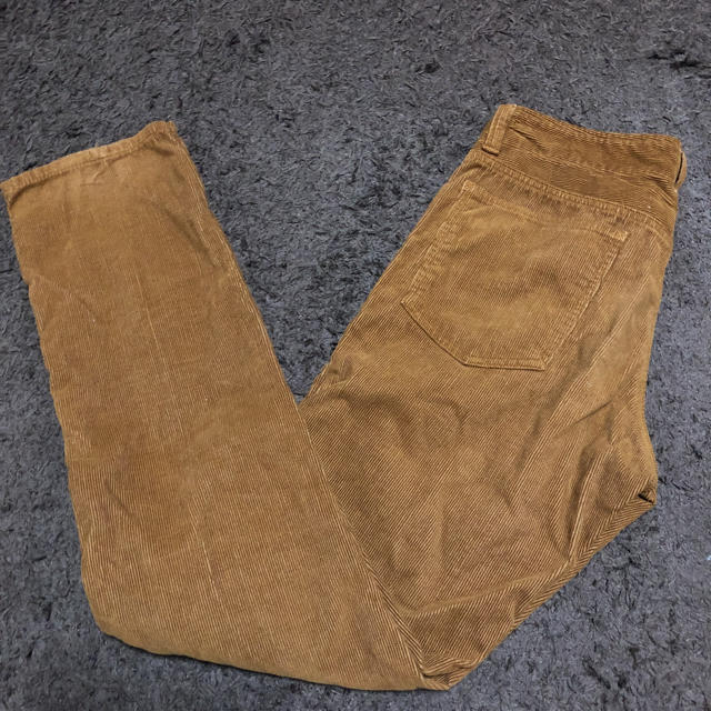 TOLLFREE(トールフリー)の【送料無料】TOLL FREE コーデュロイパンツ ブラウン茶 メンズ31インチ メンズのパンツ(その他)の商品写真