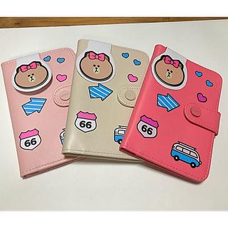 新品★monopoly★パスポートケース★チョコちゃん★全3色(旅行用品)
