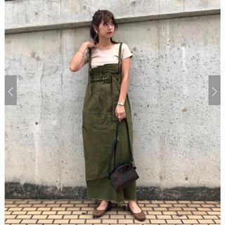 Kastane - カスタネ リメイク風ワンピース ジャンパースカート