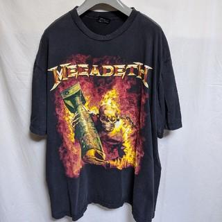 MEGADETHバンドTシャツ(Tシャツ/カットソー(半袖/袖なし))