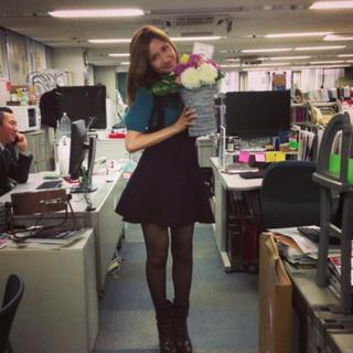 スナイデル(snidel)の紗栄子さん着用二点セット サロペット&半袖ニット(サロペット/オーバーオール)