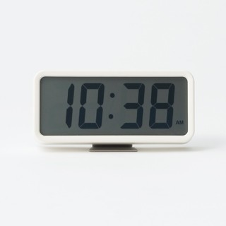 MUJI (無印良品) - ◆新品未開封◆ 無印良品デジタル時計・中 掛置時計/ホワイト