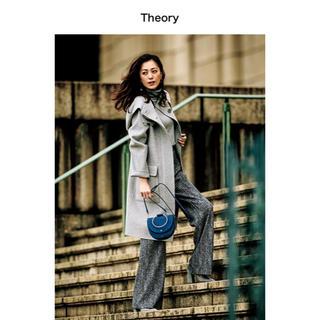 theory -   2017AW 雑誌掲載 未使用 セオリー カシミヤ混ダブルフェイスコート