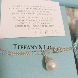 Tiffany & Co. - 美品 定価45,900円ティファニーパールネックレス