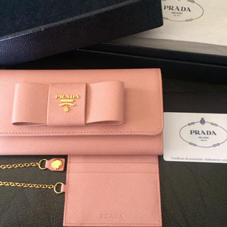 698eef281f06 プラダ サフィアーノ 財布(レディース)(ナイロン)の通販 39点   PRADA ...