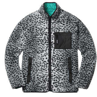 Supreme - supreme Leopard Fleece Reversible Jacket