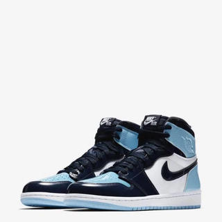 NIKE - WMNS AIR JORDAN 1 HI OG BLUE CHILL 24.5