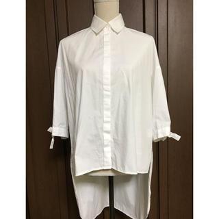 エンフォルド(ENFOLD)のRIM.ARK リムアーク 後ろが長い白シャツ(シャツ/ブラウス(長袖/七分))