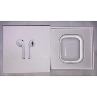 アップル(Apple)の【美品】AirPods エアーポッズ(ヘッドフォン/イヤフォン)