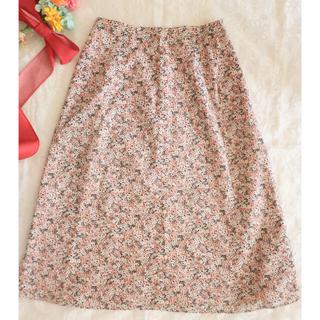 ドゥファミリー(DO!FAMILY)の花柄スカート(ひざ丈スカート)