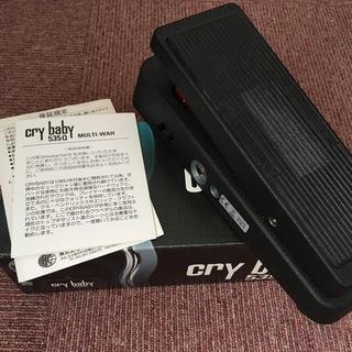 クライベイビー(CRY BABY!)のJim Dunlop Cry baby 535Q ペダルワウ(エフェクター)
