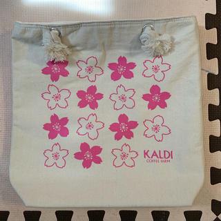 カルディ(KALDI)のカルディ さくらバッグ(トートバッグ)