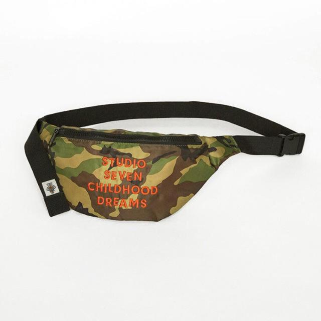 GU(ジーユー)のGU studio seven ウエストポーチ 迷彩 メンズのバッグ(ウエストポーチ)の商品写真
