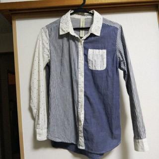 ズーティー(Zootie)のzootie☆切り替えパネルデザインシャツ(シャツ/ブラウス(長袖/七分))