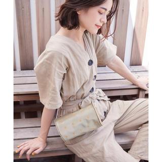 キャセリーニ(Casselini)のチュール刺繍ポシェット タグ付き新品未使用(ショルダーバッグ)