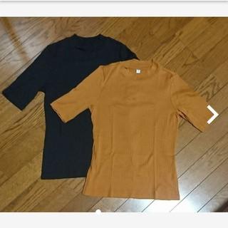 UNIQLO - UNIQLO  五分袖Tシャツ
