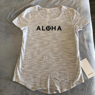 ルルレモン(lululemon)の専用新品♡lululemon ALOHA Tシャツ ハワイ限定 (Tシャツ(半袖/袖なし))