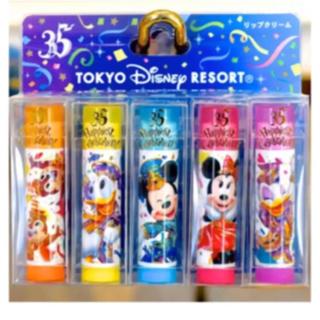 ディズニー(Disney)のディズニー35周年 リップクリーム(リップケア/リップクリーム)