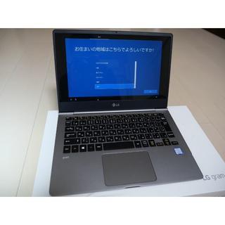 エルジーエレクトロニクス(LG Electronics)の新同品 LG gram 13Z980-GA56J 第8世代CPU 保証残あり(ノートPC)