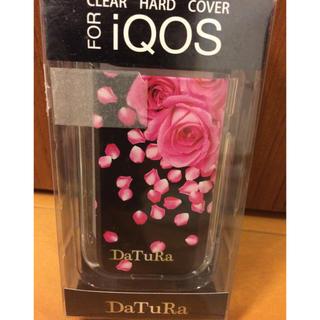 ダチュラ(DaTuRa)の新品 DaTuRa iQOS専用 ハードケース ROSE HOLIC BLK(その他)