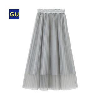 GU - GU チュールスカート グレー