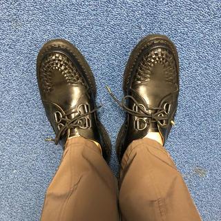 ジョージコックス(GEORGE COX)のGerman hamberg GeorgeCox 厚底 革靴 26(ドレス/ビジネス)
